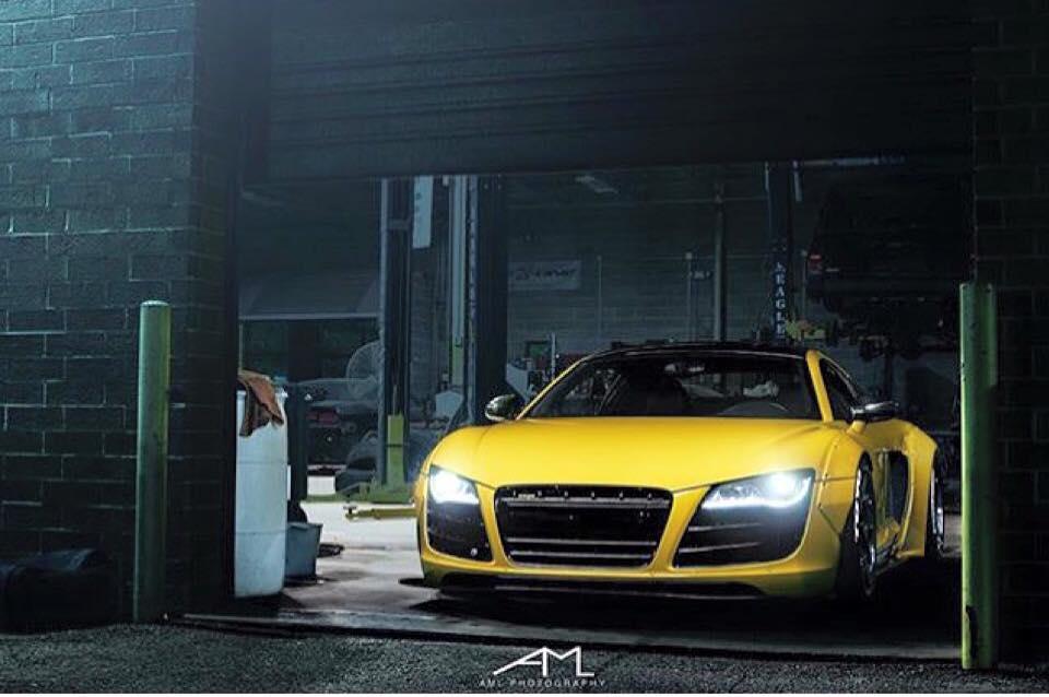 Audi R8 Liberty Walk