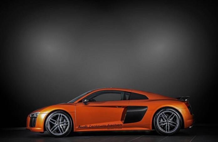 Satin Canyon Copper Audi R8 V10 Plus