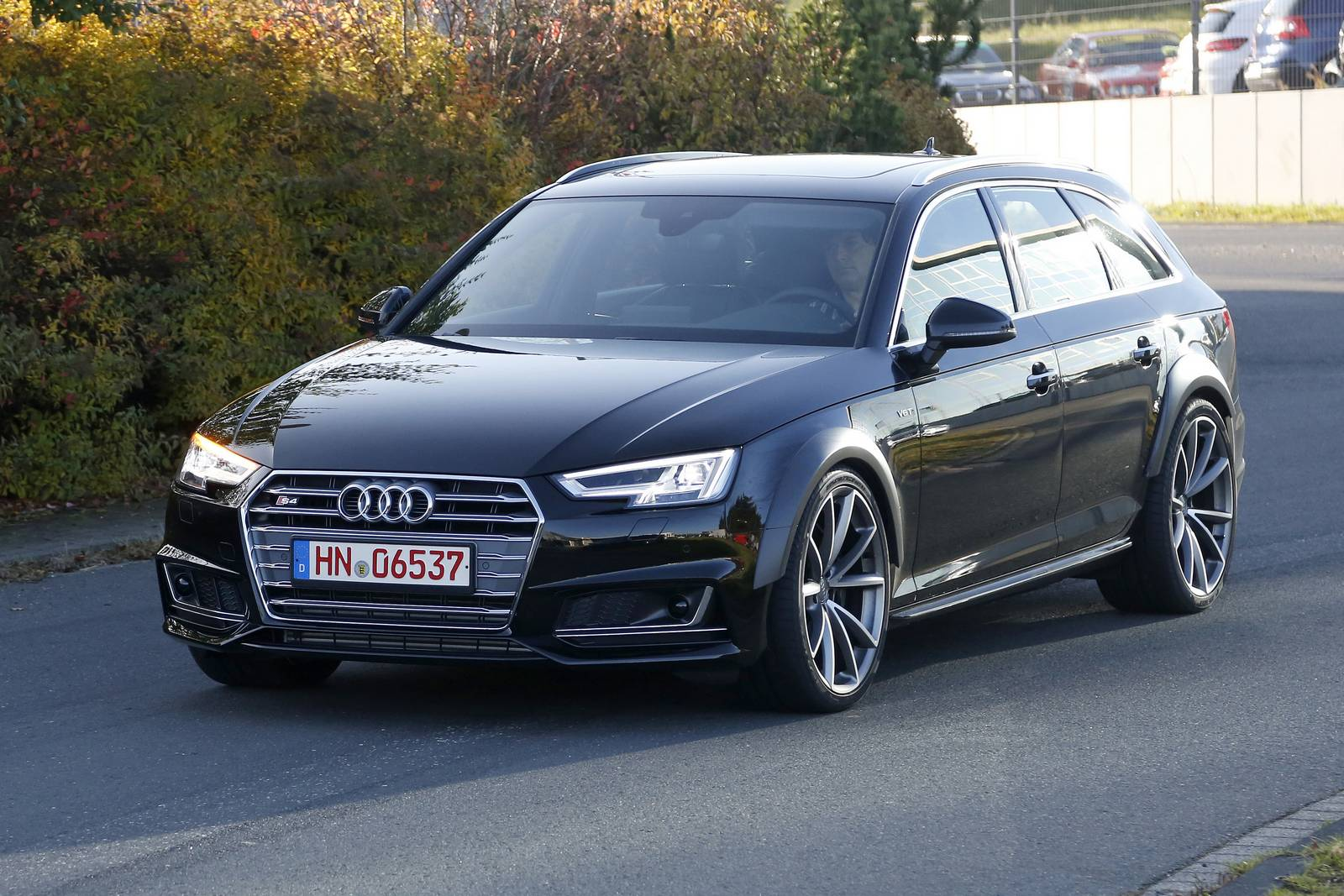 2018 audi rs4 avant test mule spy shots gtspirit. Black Bedroom Furniture Sets. Home Design Ideas
