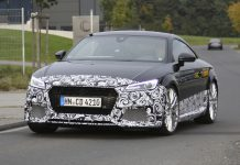 Next-gen Audi TT RS front