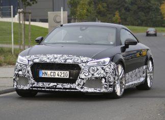 Next-gen Audi TT RS front