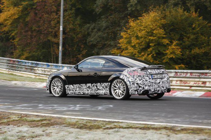 Audi TT-RS rear view