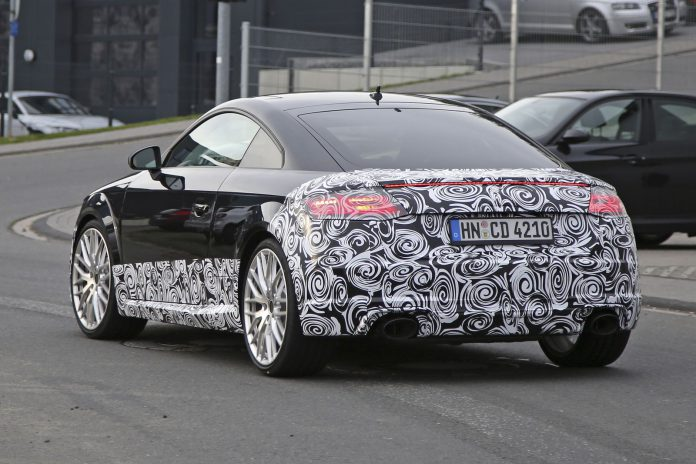 Next-gen Audi TT RS rear