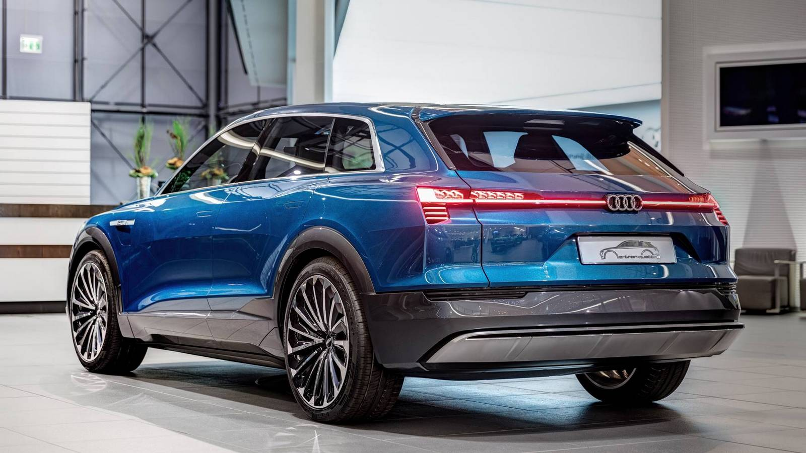 Audi E Tron Quattro Concept Shown At Audi Forum Neckarsulm