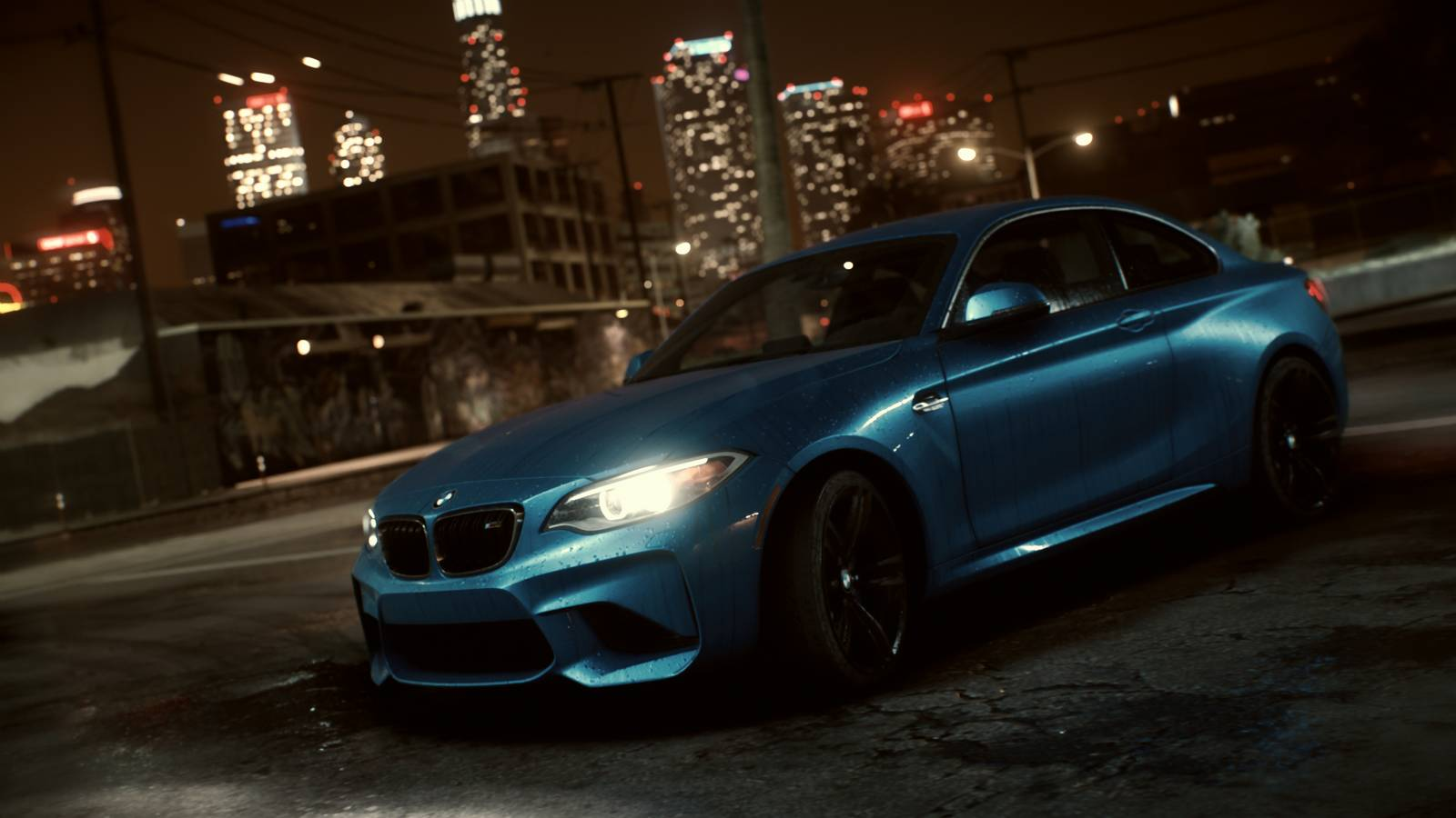 all new bmw m2 added to need for speed 2015 gtspirit. Black Bedroom Furniture Sets. Home Design Ideas