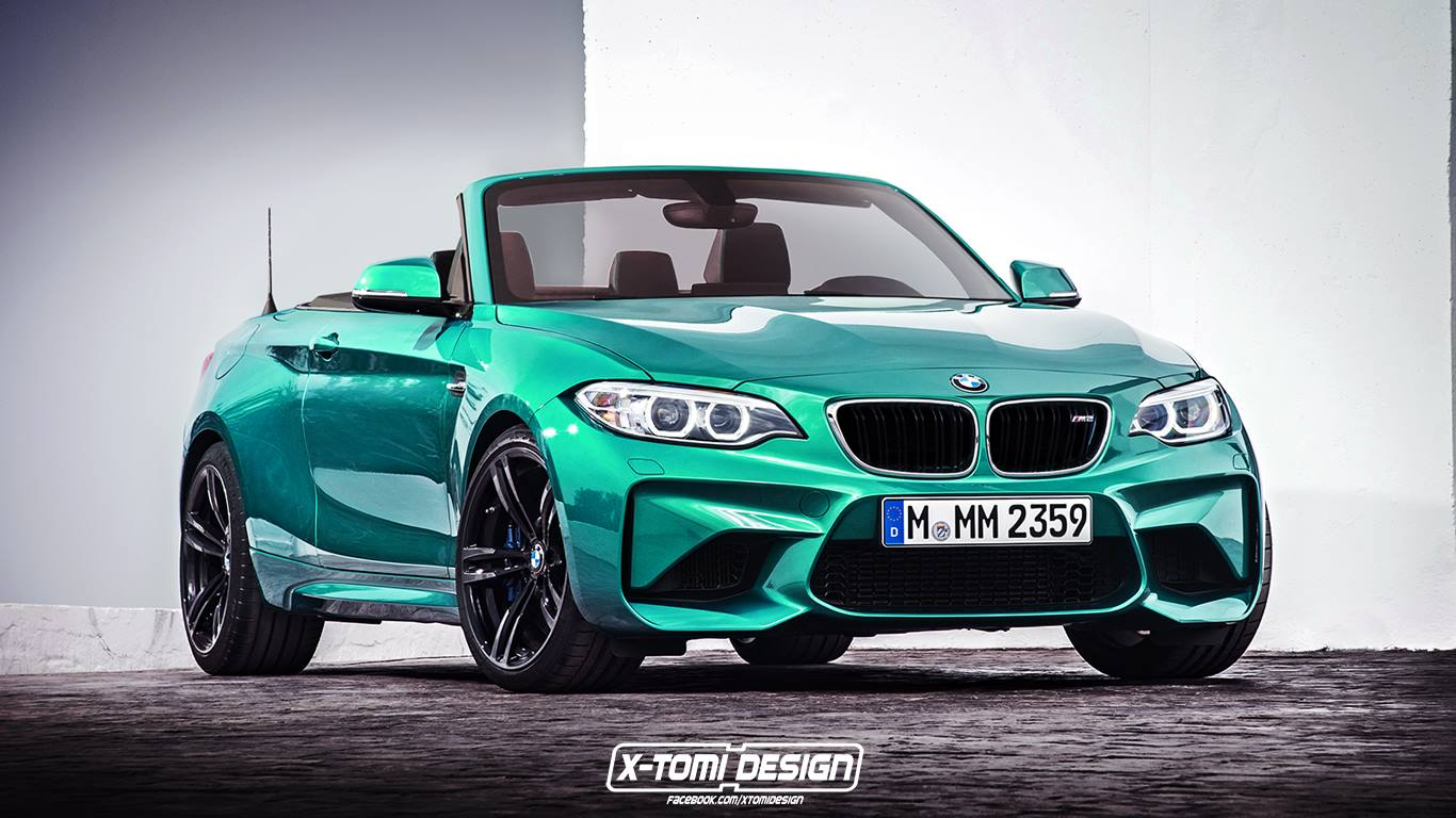 bmw m2 convertible already imagined gtspirit. Black Bedroom Furniture Sets. Home Design Ideas