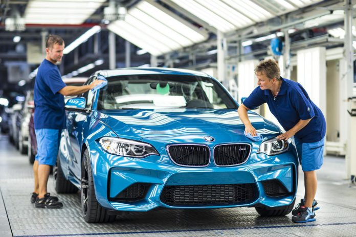BMW M2 production starts