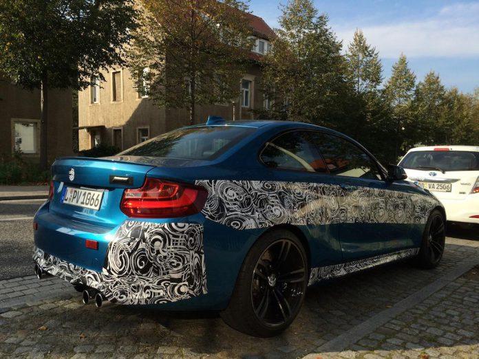 BMW M2 spied1