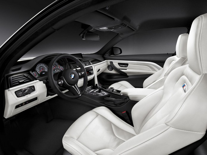 BMW M4 Performance and Individual Editions interior