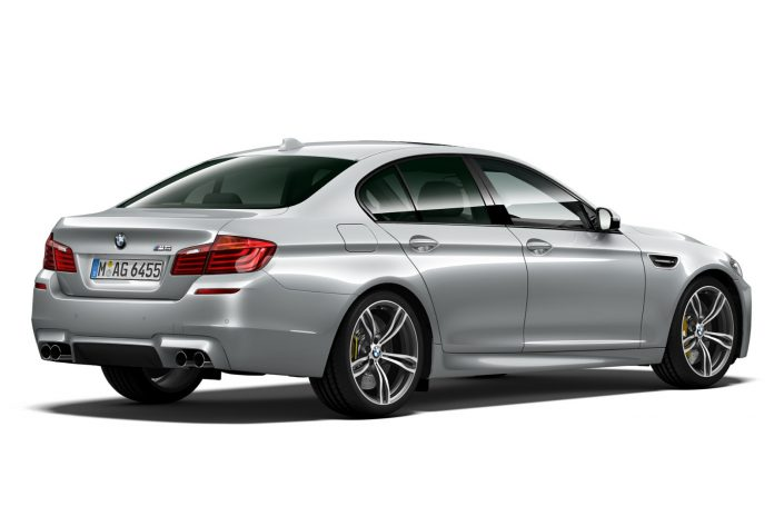 BMW M5 Pure Metal Edition rear