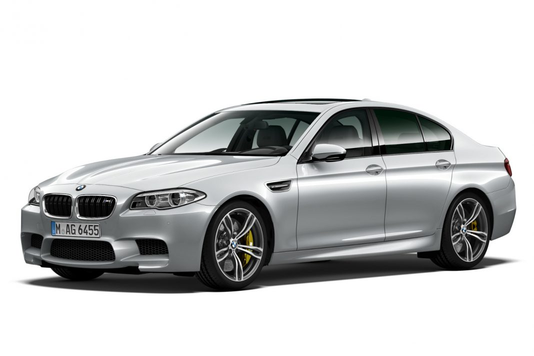 BMW M5 Pure Metal Edition front