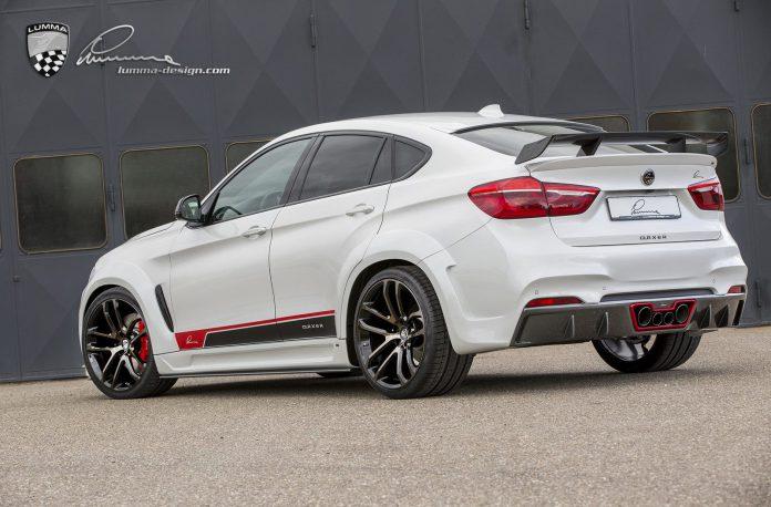 BMW X6 Lumma rear