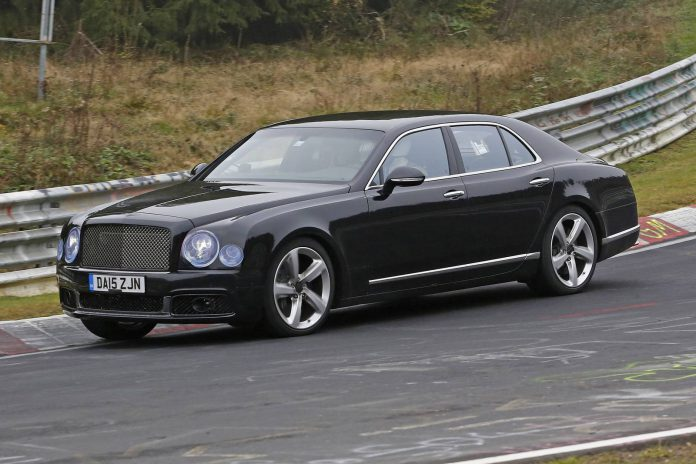 Bentley Mulsanne Facelift spy shot