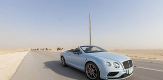 Bentley in the desert