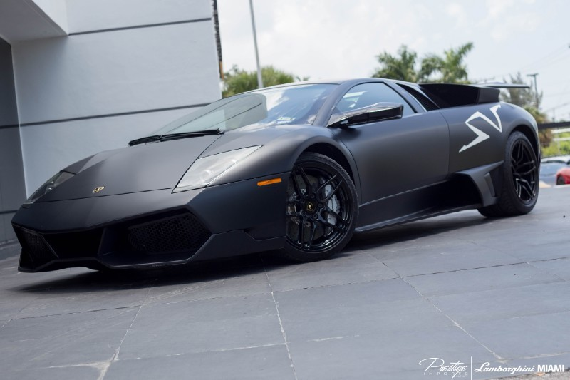 Black Lamborghini Murcielago Sv For Sale In Miami Gtspirit