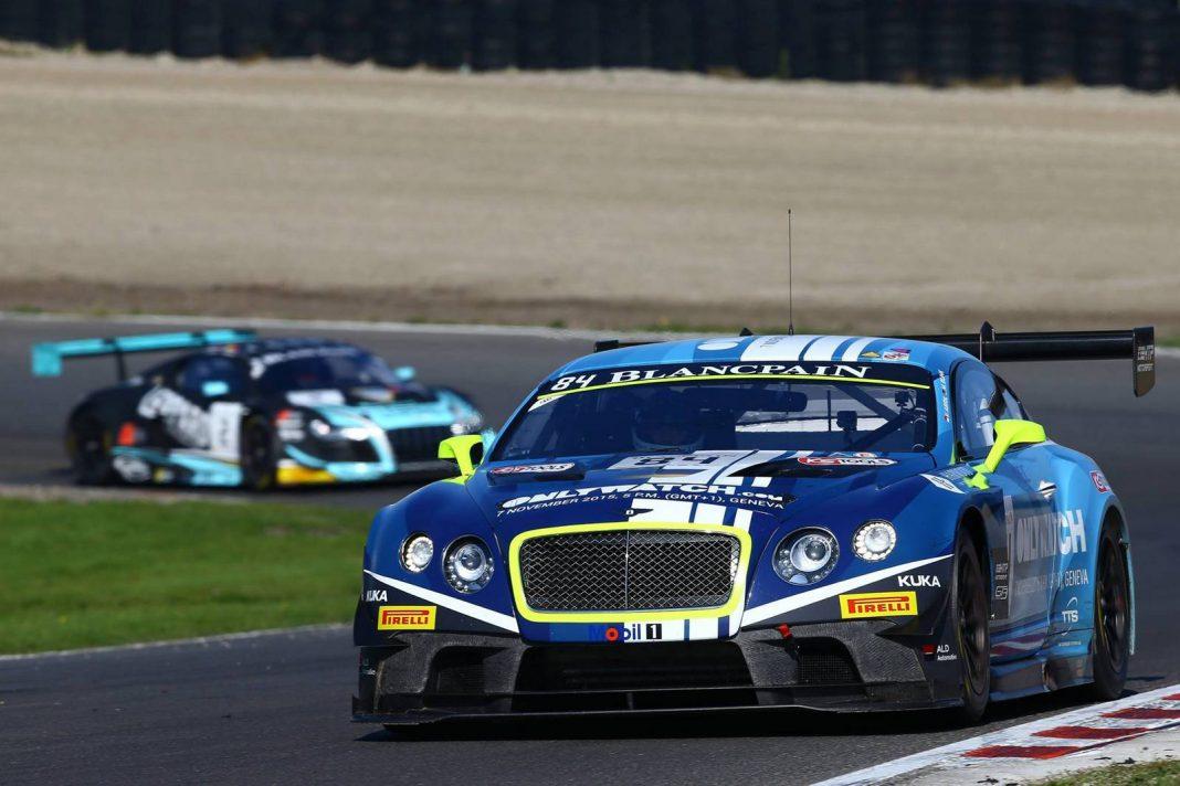 Blancpain GT Seaon Finale 2015 Bentley