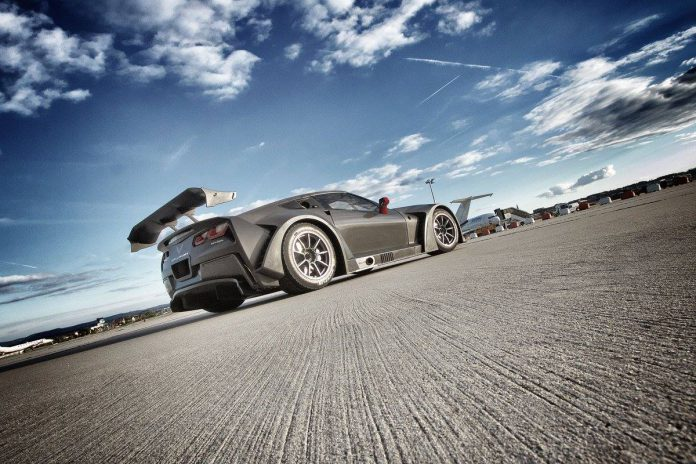 Callaway Corvette C7 GT3-R rear view