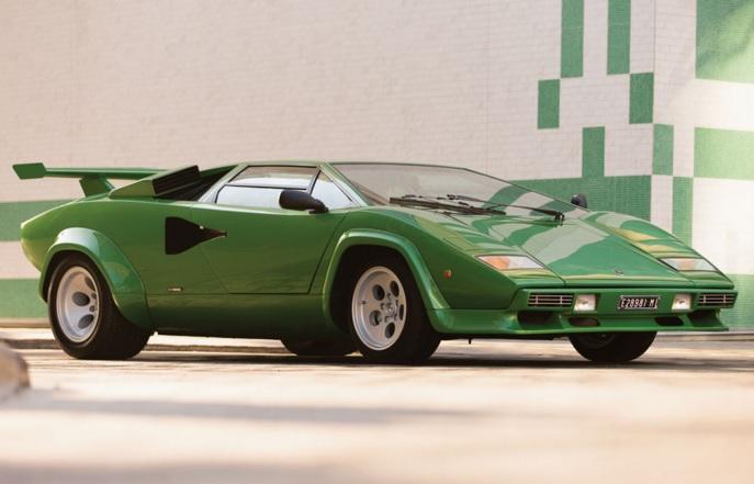 Lamborghini Countach heading to auction