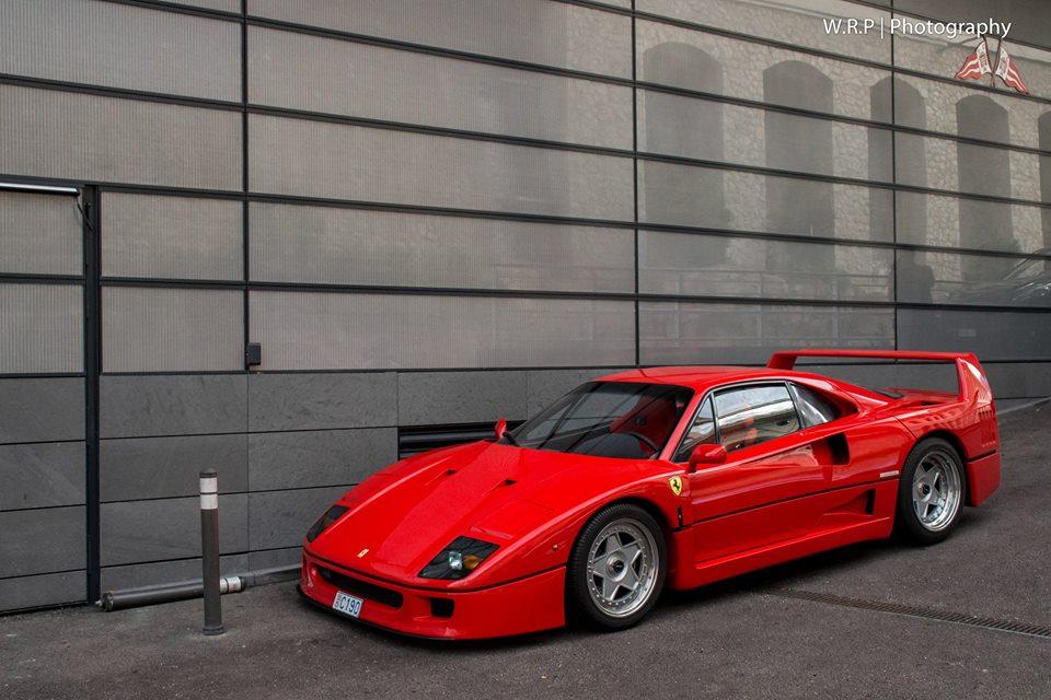 Felipe Massan Ferrari F40