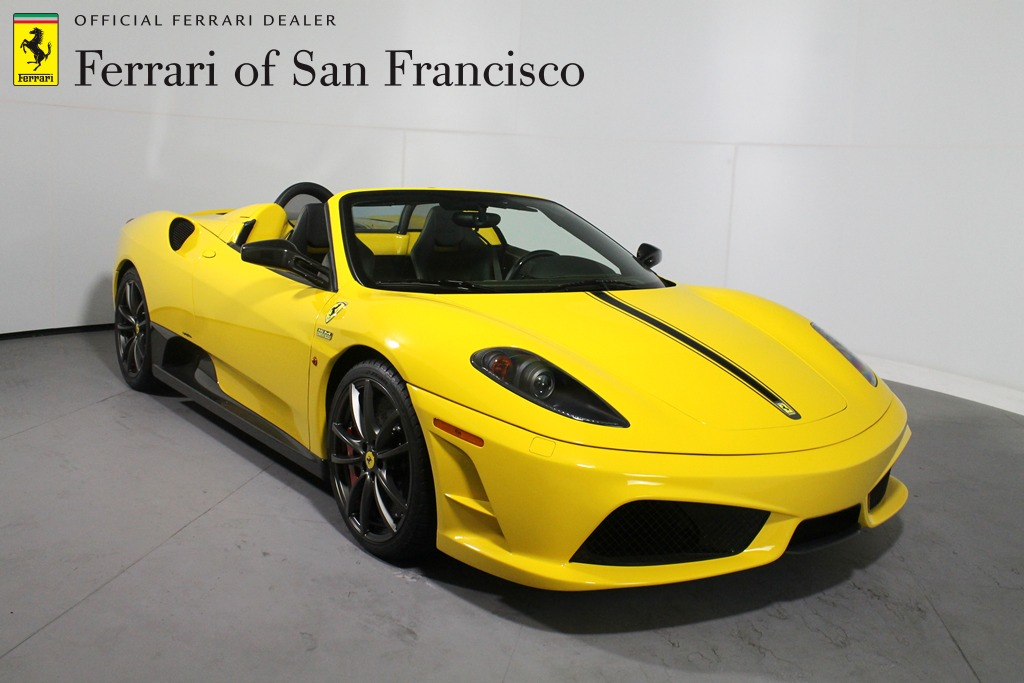 Bright Yellow Ferrari 16M Scuderia Spider For Sale - GTspirit