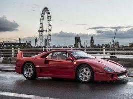 Ferrari F40 auction front
