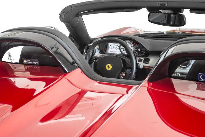 Ferrari 599 SA Aperta decklid