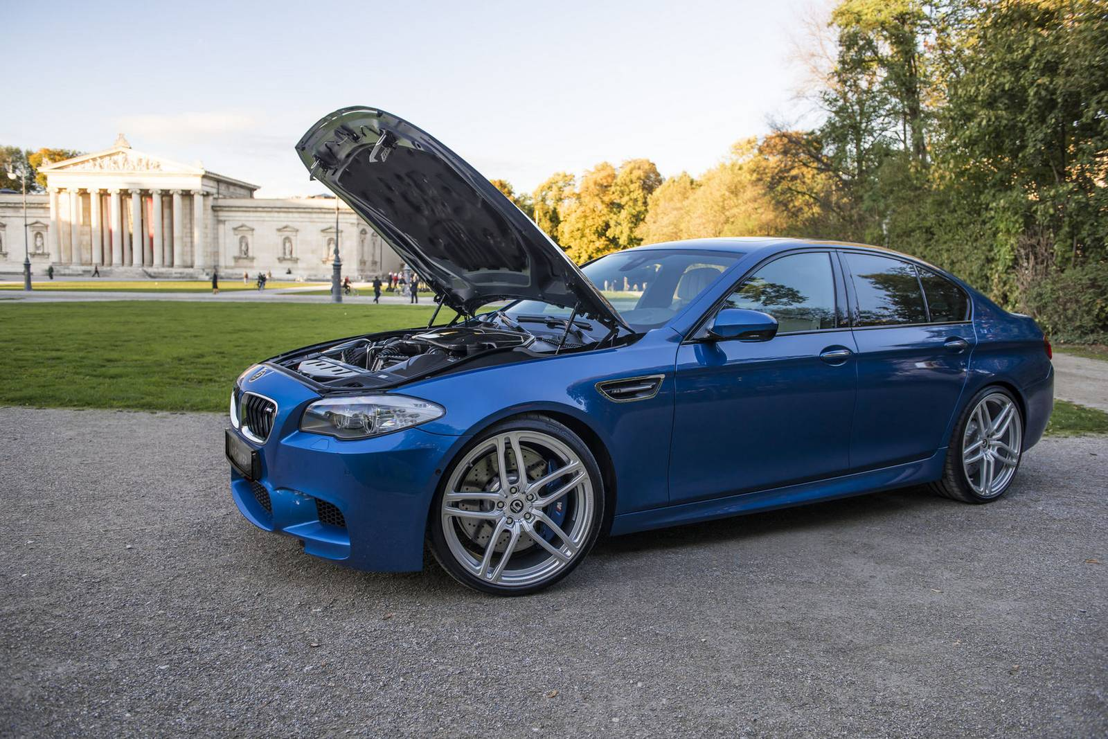 official g power bmw f10 m5 with 740hp gtspirit. Black Bedroom Furniture Sets. Home Design Ideas