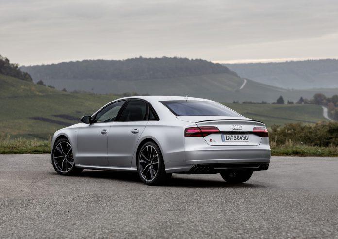 Audi S8 Plus Matt Silver