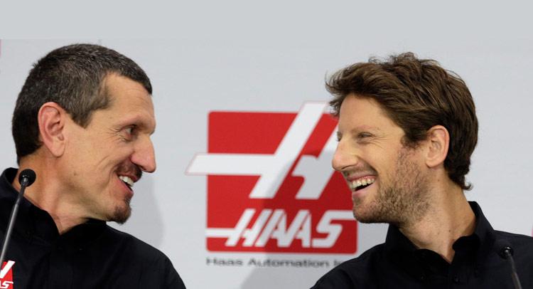 Romain Grosjean signs with Haas F1