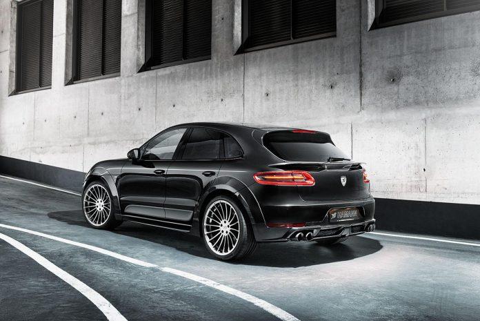 Hamann Porsche Macan S Diesel rear