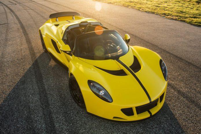 Hennessey Venom GT front