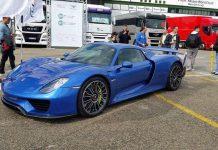 Horacio Pagani Porsche 918 Spyder front