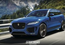 Jaguar F-Pace RS rendered