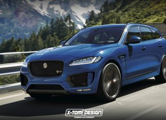 Jaguar F-Pace RS rendered