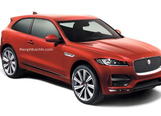 Jaguar F-Pace two door front