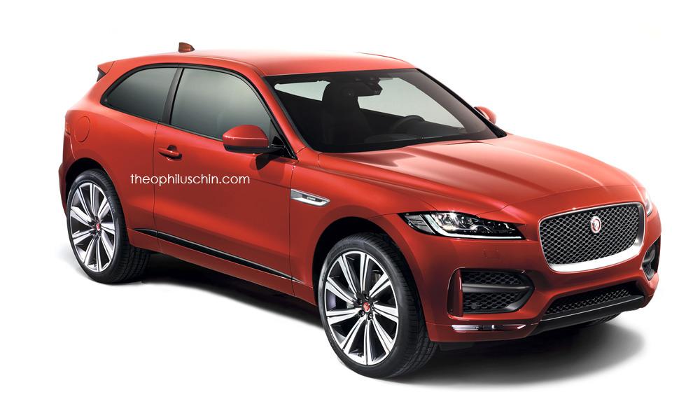 Jaguar F-Pace two door front