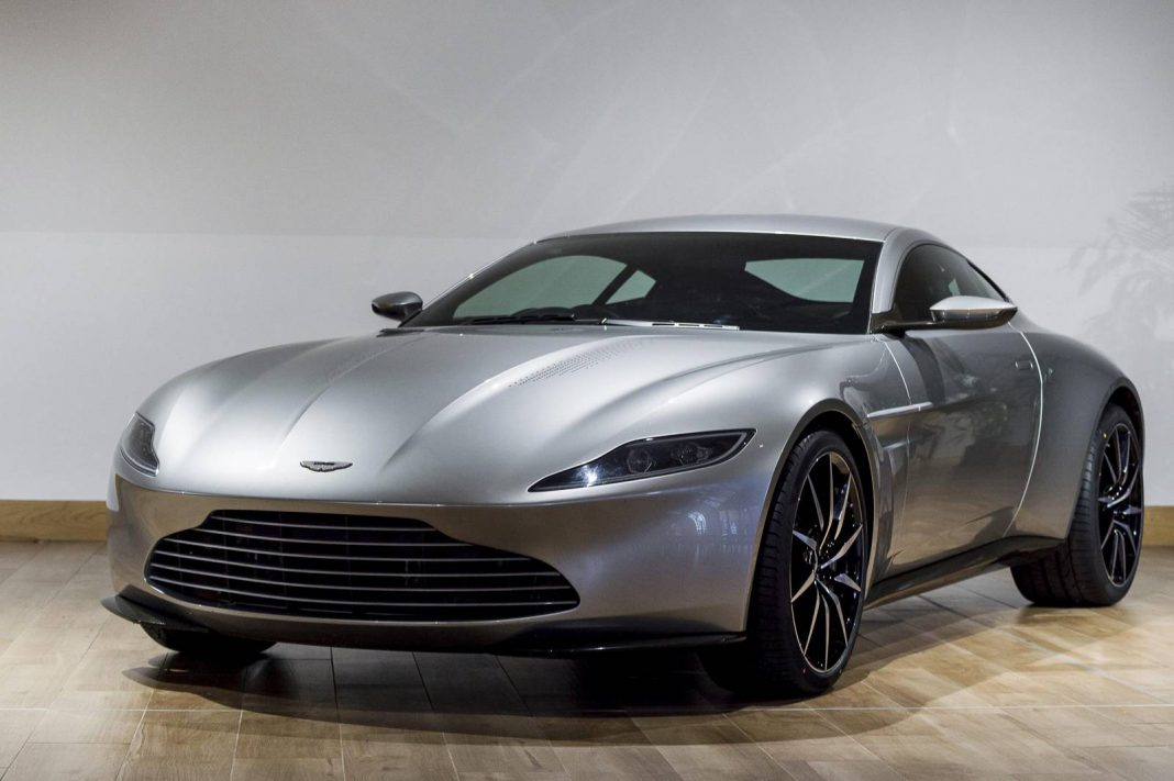 Aston Martin auctioning DB10