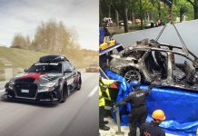 Jon Olsson Audi RS6 DTM stolen and burnedJon Olsson Audi RS6 DTM stolen and burnedJon Olsson Audi RS6 DTM stolen and burned