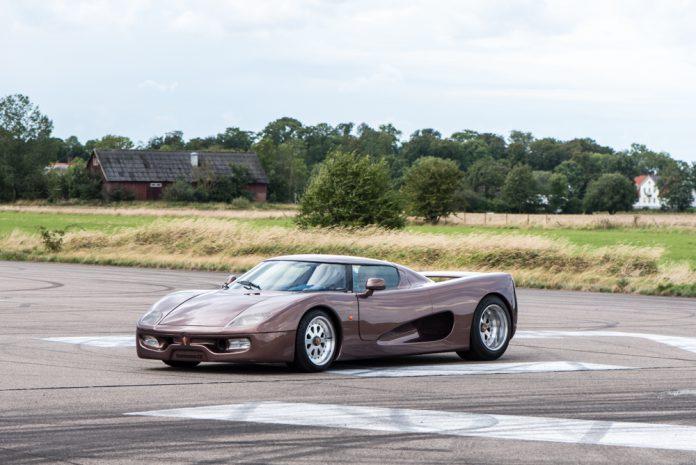 World's first Koenigsegg front