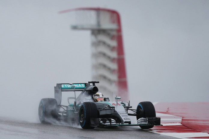 Lewis Hamilton United States GP 2015