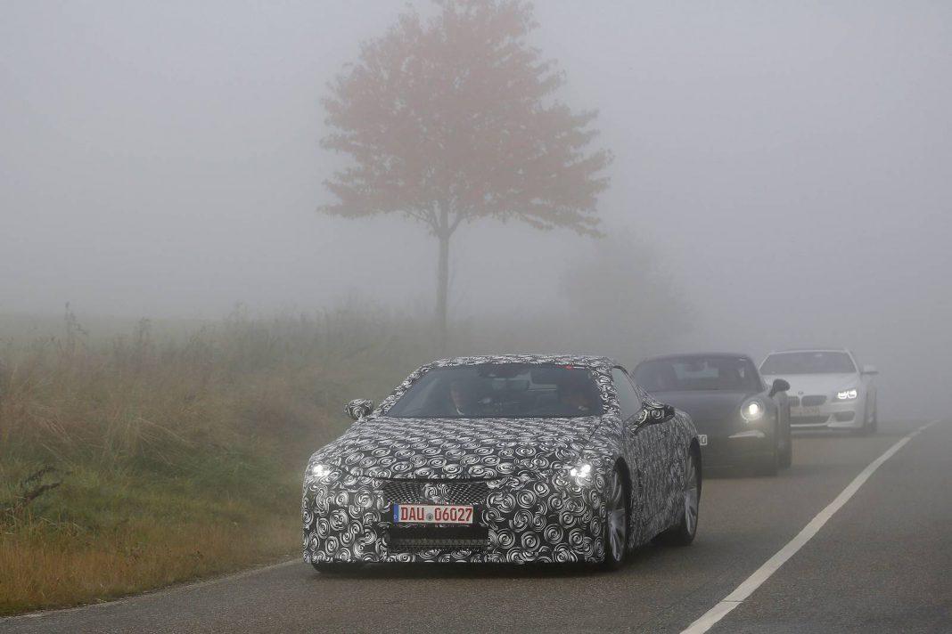 Lexus LF CC Spy Shot