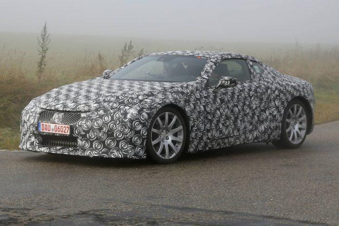 Lexus LF CC testing
