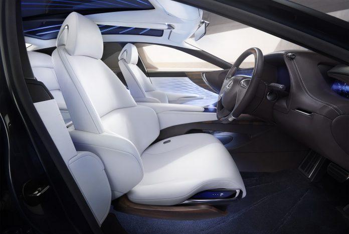 Lexus LF-LC interior