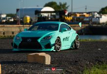 Lexus RC F by Rocket Bunny