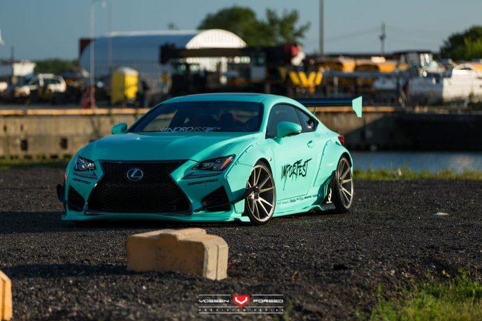 Lexus RC F by Rocket Bunny