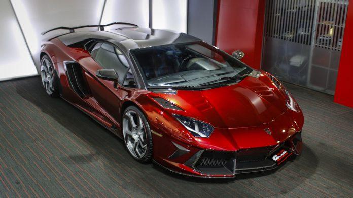 Mansory Lamborghini Aventador for sale front