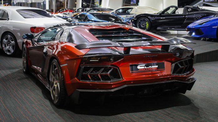 Mansory Lamborghini Aventador for sale rear