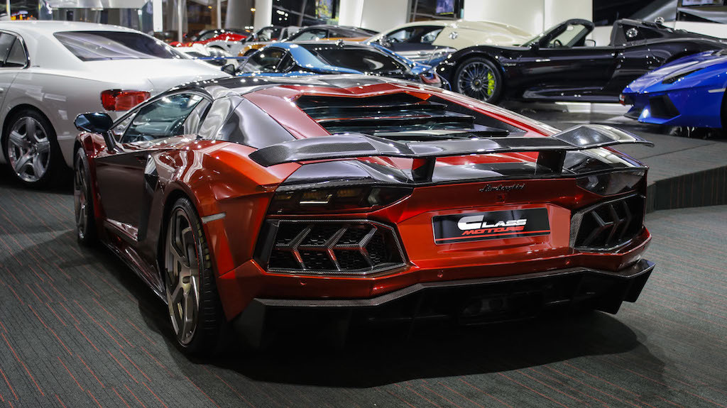 Custom Mansory Lamborghini Aventador For Sale in Dubai  GTspirit