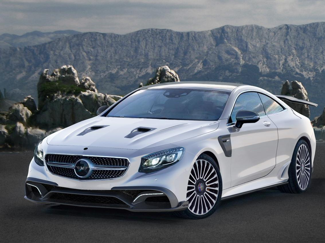 Mansory Reveals New Mercedes Benz S63 Amg Coupe Bodykit