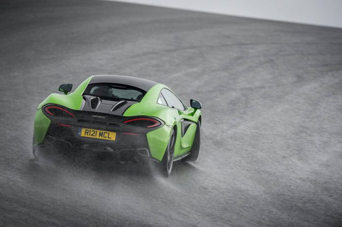 Mantis Green McLaren 570S Coupe